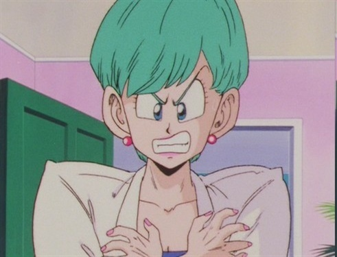 Dragon Ball Females Worst Bulma S Hairstyle In Z