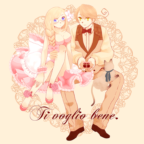 Hetalia couples who is the cutest couple out of my favorites listed