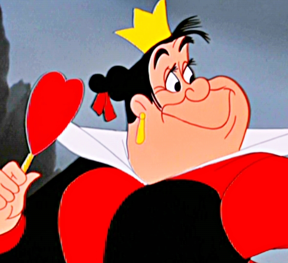 Battle of the Disney Characters: Alice in Wonderland Poll ... Queen Of Hearts Alice In Wonderland Disney