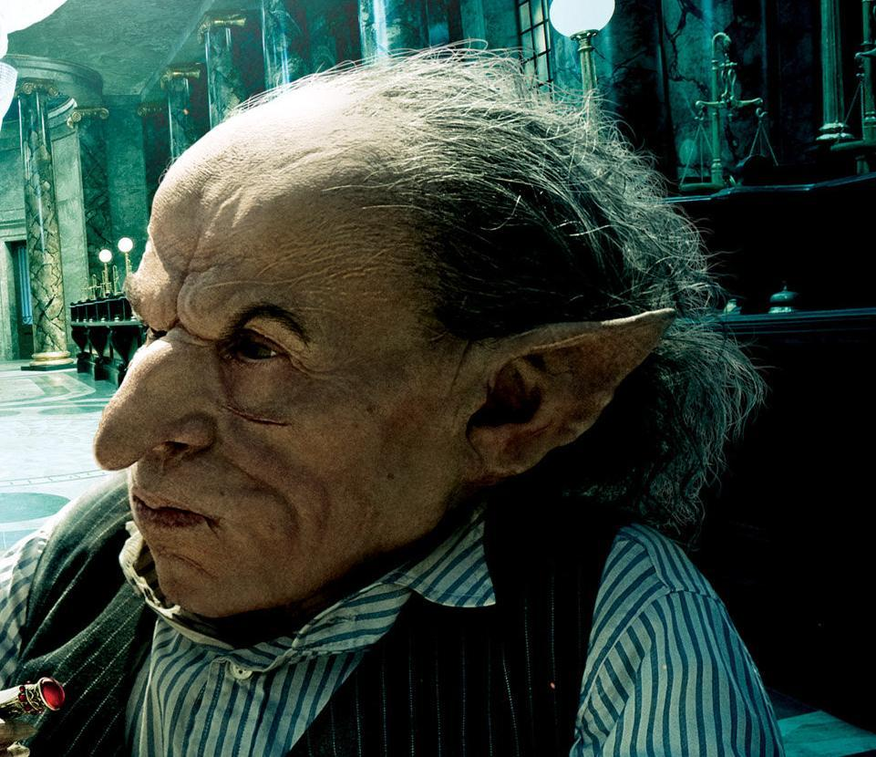 Warwick Davis Griphook What is your favorite ...