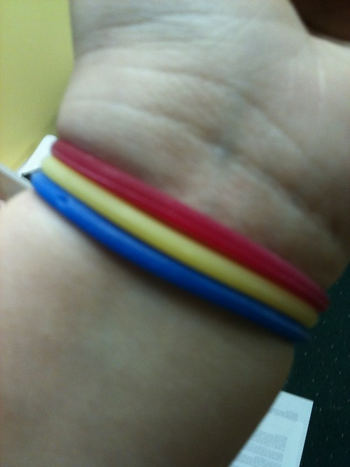 Do you wear hair ties around your wrist  - Being a Woman - Fanpop a3a4a1cd34a