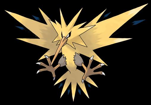 legendary electric pokemon -#main
