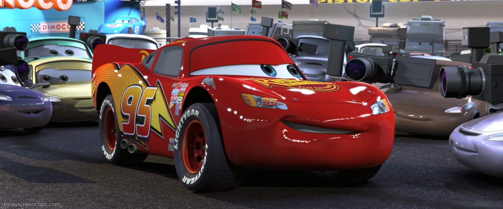 cars 2006 if lightning is a man how old is he
