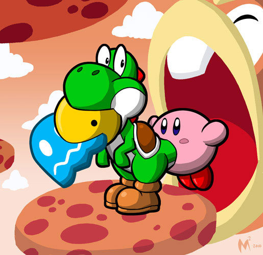 Kirby's spot has over 3200 fans while Yoshi's only has ...