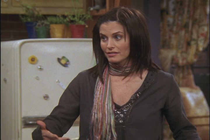 Monica Friends Hairstyles Favorite monica hairstyle? - friends ...