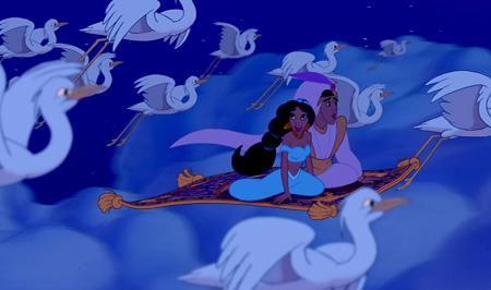 The most magical disney moment poll results disney for Aladdin carpet ride scene