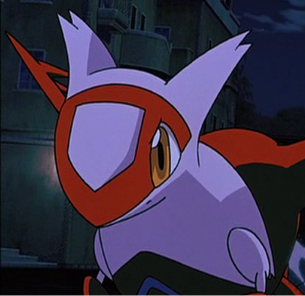 That ash s bayleef and latias from quot pokemon heroes quot meet each other
