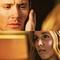 Jo touching Dean's face