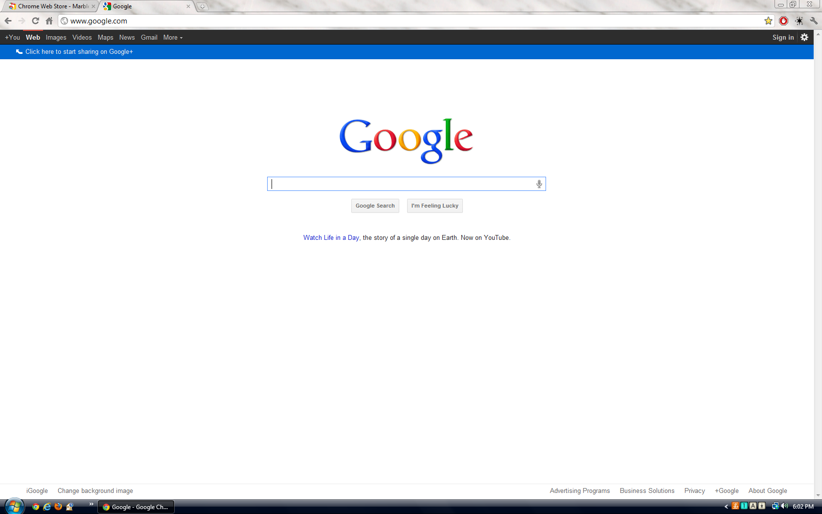 Google themes marble - Google Chrome What Is Your Favorite Google Chrome Theme