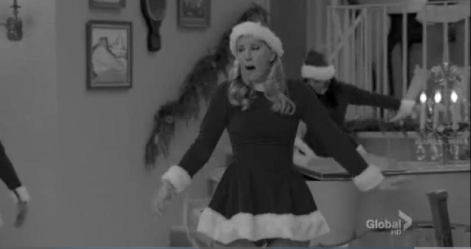 The waitresses merry christmas