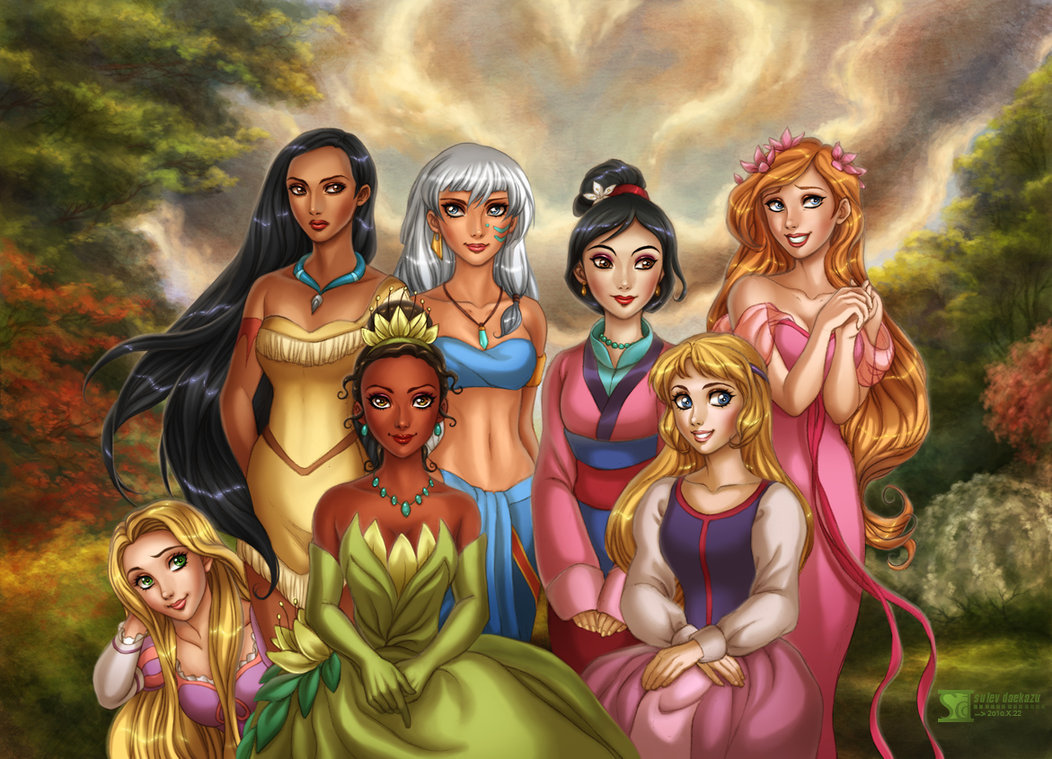Disney Princess Are The Disney