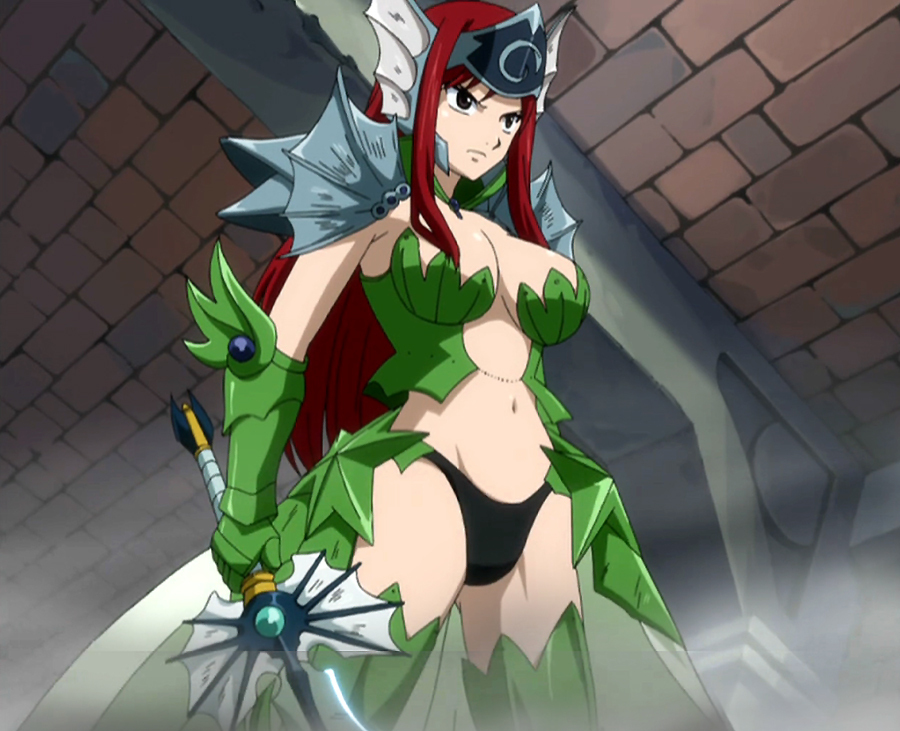 Fairy Tail Erza Sea Empress Armor Which armour/costume i...