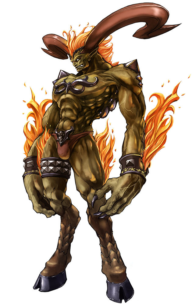 Final fantasy summons ifrit - photo#1