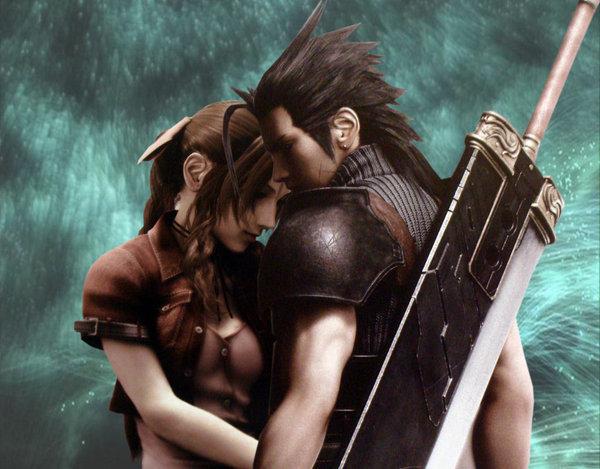Final Fantasy Aerith And Zack