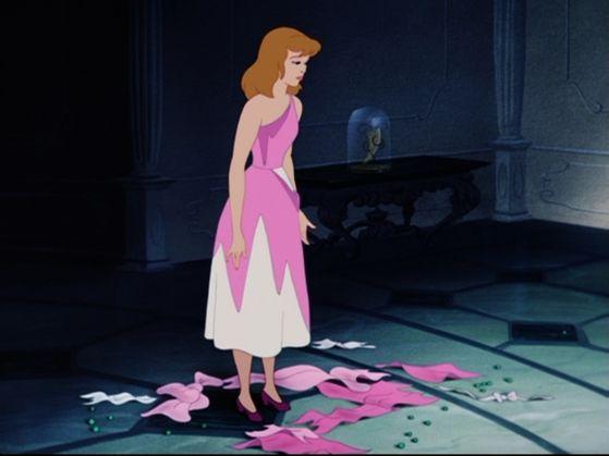 Cinderella's Dress is Been