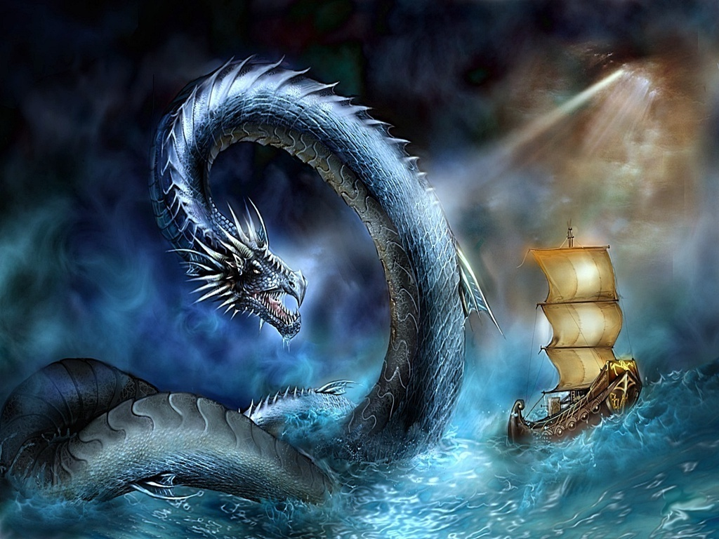 Fantasy water creatures - photo#4