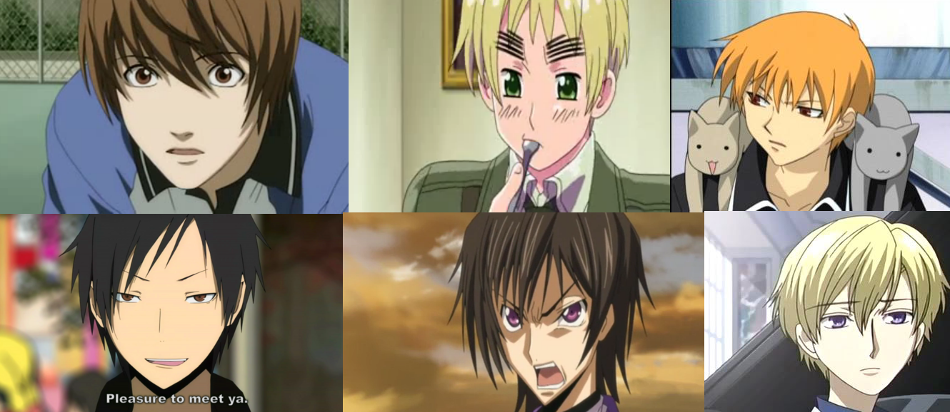 Do You Like Anime Boys More With Long Or Short Hair? Poll
