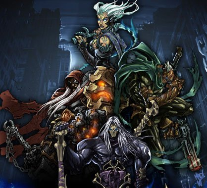 Darksiders Fury Chaos Form