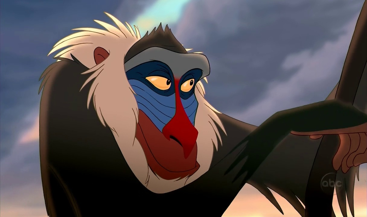 Lion King Characters Rafiki Lion King Rafiki