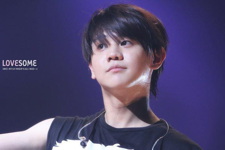 Yoseob black hair