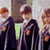 the enchanced Hogwarts uniform with house crests and ties in the movies