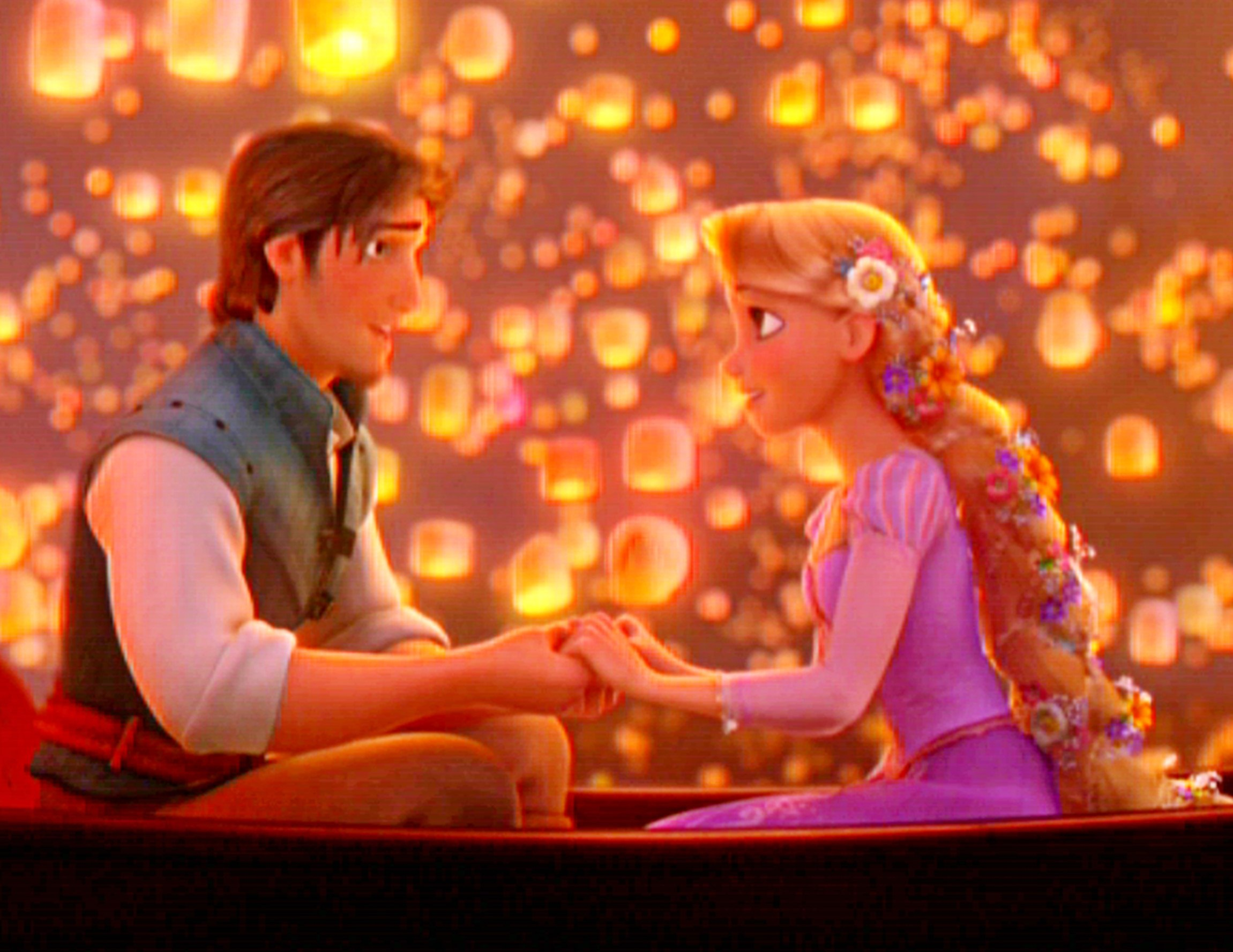 Gallery Of Tangled Wallpaper I See The Light Scene With