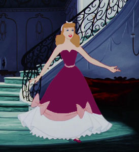 Disney Princess Outfit Color Game Round 8: Pink dress (Cinderella ...