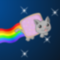 Nyan cat poops rainbows