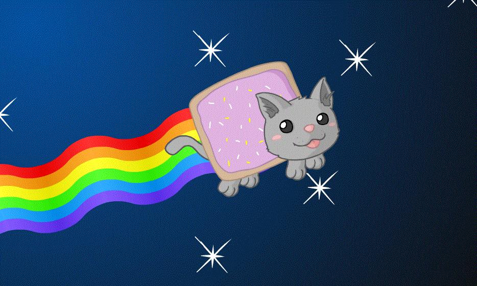 Rainbow Nyan Cat Game
