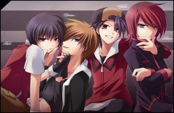 Do toi like the yaoi ships in pokemon, Naruto, Death note ...  |Anime Group Of Friends Boys And Girls