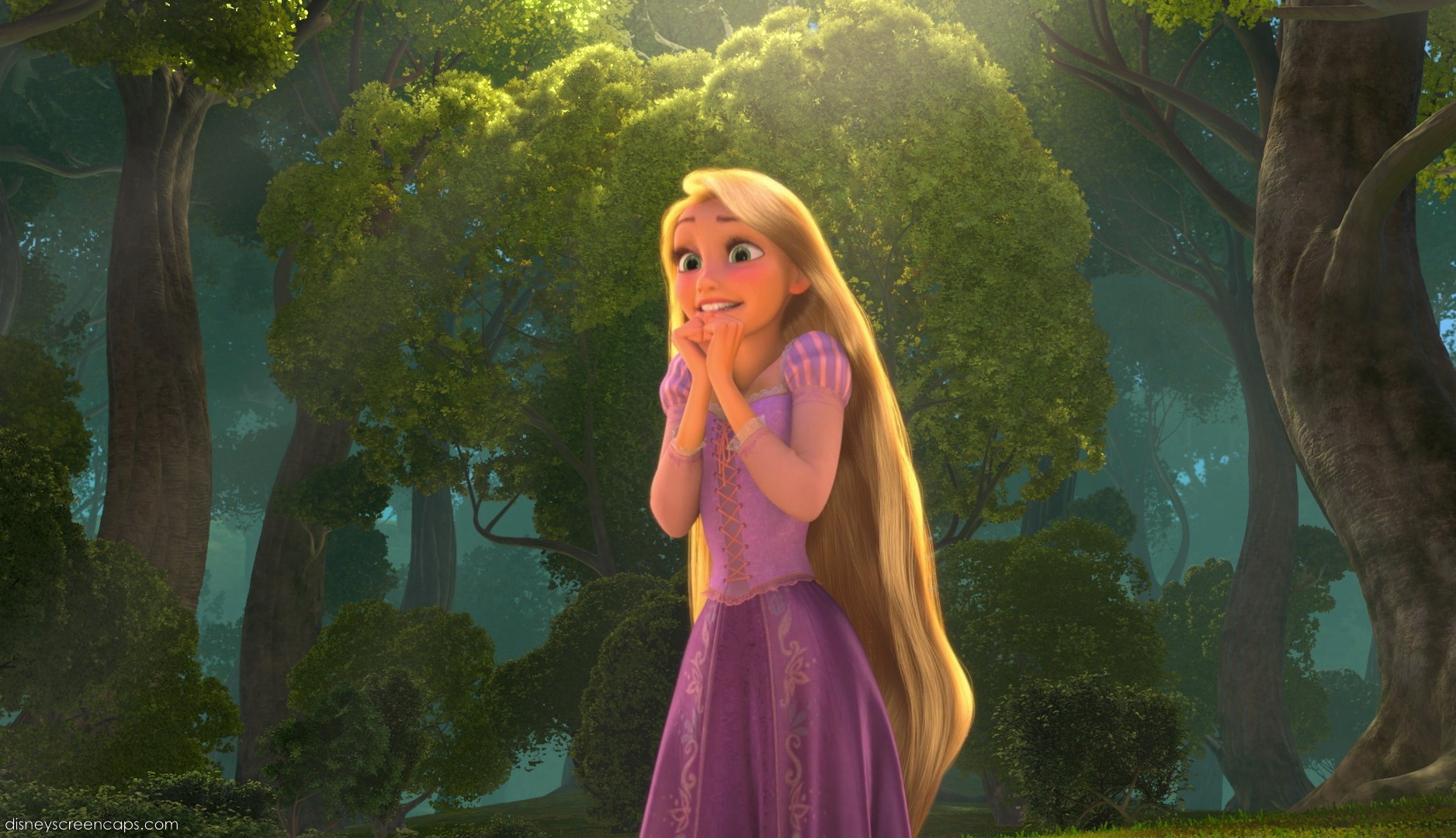 Princess Rapunzel in Tangled-Disney Movie-Wallpaper (double-click to ... for Rapunzel Tangled Full Body  53kxo