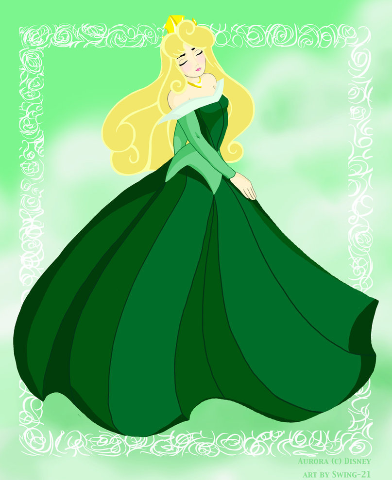 for st patrick s day which princess looks best in green click