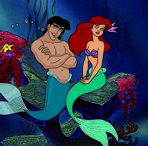 What would Ariel do if Eric longed to become a merman for the rest