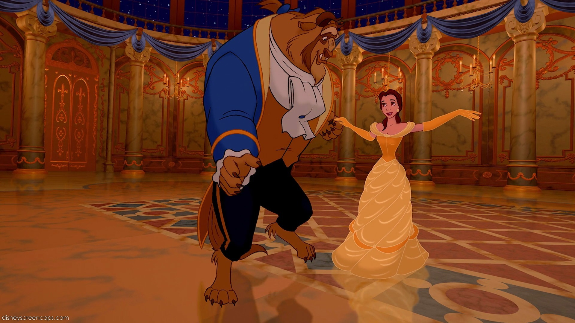 ballroom dance like in Cinderella  Sleeping Beauty  Beauty and theDisney Beauty And The Beast Ballroom