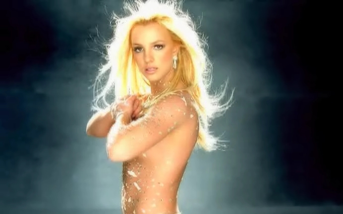 Britney spears nude toxic