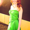 Green dress from 'The Hunger Games' Premiere