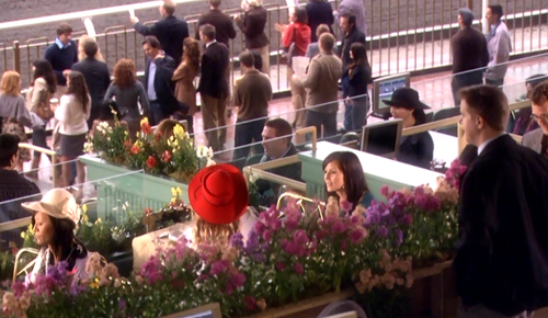 Is that Naomi in the red hat?