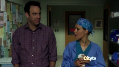 How old did Cooper tell Charlotte he was when his father had a heart attack?