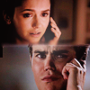 What says Elena to Stefan in 3x01?