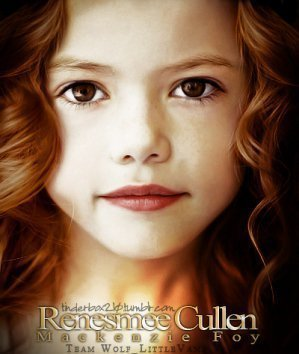 How many days difference are there between Renesmee's birthday to Bella's?