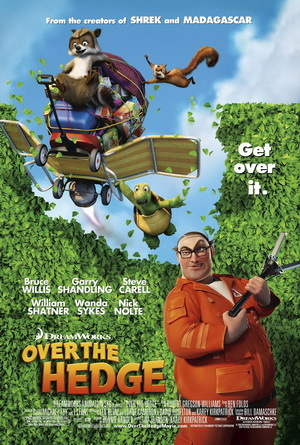 """""""Over The Hedge"""" - What character does he voice ?"""