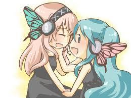 What song does Miku star in with Luka?