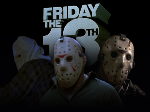 "In which movie does someone actually say, ""Happy Friday the 13th."""