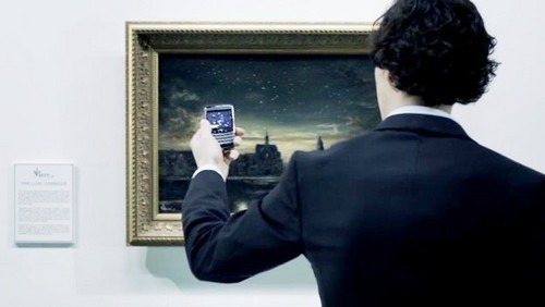 """The Great Game"": The fake painting was suppose to be the actual work of what artist?"