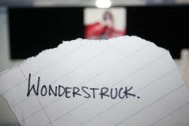 "Which song can you hear the word ""Wonderstruck""?"