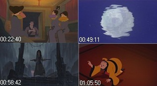 Those are screencaps of which Disney Movie?