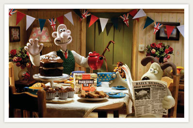 What is Wallace and Gromit&#39;s address?