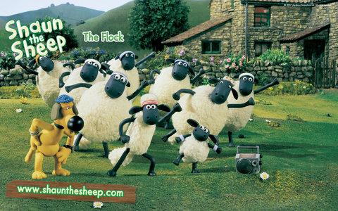 What is the name of the theme tune of Shaun the Sheep?