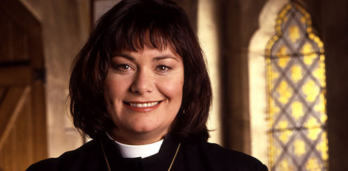 Other than a vicar, what was Geraldine's other job?