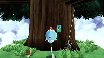 GUESS THE PLACE! - Mario uses Blimp Yoshi to reach the Launch Star